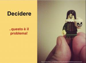 Condividere obiettivi e prendere decisioni con Lego Serious Play