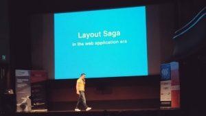 layout saga web application