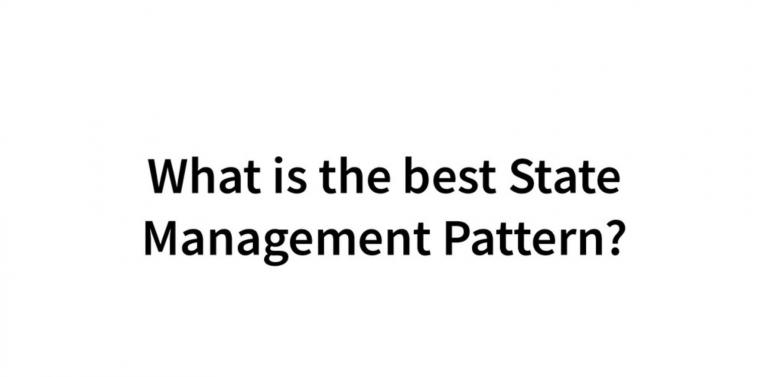 advanced state management pattern