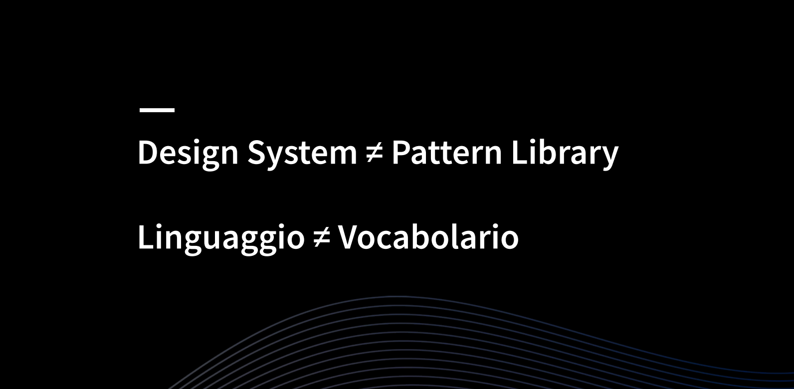 design system pattern library